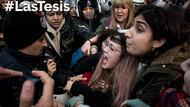 Kadıköy'de kadınların #LasTesis eylemine polisten sert müdahale