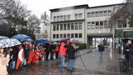 Almanya'daki Türkler skandal Atatürk yayınını Hamburg'da protesto etti