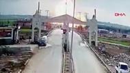 Kilis'te sınırın Suriye tarafında patlama