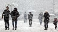 Meteoroloji'den 3 il için son dakika kar yağışı uyarısı