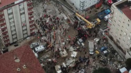 Kartal'da çöken binayla ilgili 4 kişi gözaltına alındı