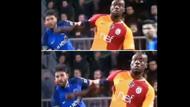 Kasımpaşa Galatasaray maçında tartışma yaratan pozisyon!