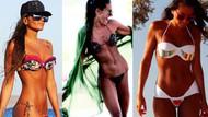Eda Taşpınar'dan bikinili siyah beyaz fotoğraf: Ben plaj kızıyım