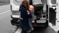 Anne ve baba hayatını kaybetti minik bebekleri yaralı kurtuldu