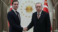Cumhurbaşkanı Erdoğan Kushner'i kabul etti