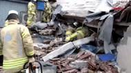 İstanbul'da 8 katlı bina çöktü: Çok sayıda yaralı