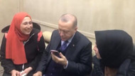 Cumhurbaşkanı Erdoğan genç kızın o isteğini geri çevirmedi