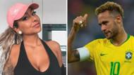 Liza Brito ateşli geceyi anlattı: Neymar ile bir gece daha..