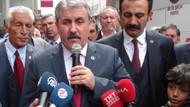 Destici: Bölücü siyasi partilerle iş birliğine girmeyin