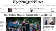 ABD medyası Yeni Zelanda vahşetindeki alçak katillere terörist diyemedi