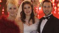 Ömür Gedik'in 24 yaşındaki kızı Tayga Gedik, Mete Akınal ile Gaziantep'te evlendi