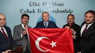 Cumhurbaşkanı Erdoğan'dan Ülkü Ocakları'na ziyaret