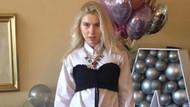 Aleyna Tilki'ye özel odada doğum günü