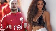 Wesley Sneijder'den boşanma açıklaması