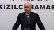 Bahçeli'den kriz çıkaracak açıklama: MHP yüzde 18.8 AKP yüzde 32.8 oy aldı