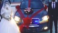 Komünist Başkan Maçoğlu makam aracını gelin arabası yaptı