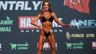 Bikini fitness şampiyonu Deniz Eke Avrupa'da kupa peşinde