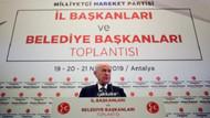Bahçeli: İstanbul'da son söz söylenmemiştir