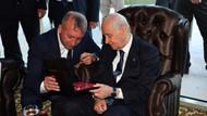 MHP lideri Devlet Bahçeli'ye ilginç hediye