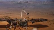 NASA, Mars'ta ilk depremi kaydetti
