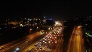 3'üncü köprünün kapanmasıyla otobüs ve TIR'lar FSM'den geçiyor