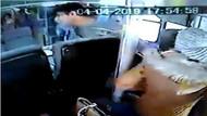 Gazeteciye otobüste taciz! Kapıları açmayın beni taciz etti!