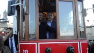 Cumhurbaşkanı nostaljik tramvay ile iftara geldi