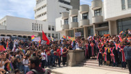 ODTÜ'de boykot günleri: Akademisyenler cübbeleriyle destek verdi