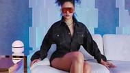 Rihanna yeni lüks markası Fenty'e ait görüntüleri paylaştı