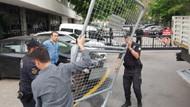 YSK önünde güvenlik önlemleri artırıldı