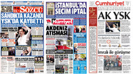 YSK'nın İstanbul seçimini iptal kararını hangi gazete nasıl gördü?