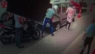 Motosikletli saldırganlar fırından pide alan kadını böyle vurdular