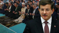 Davutoğlu Erdoğan'ın katıldığı o namazı eleştirdi