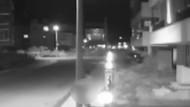 Elektrik direğine tecavüz etmeye çalıştı güvenlik kamerasına yakalandı