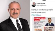 AKP'li başkandan İmamoğlu hakkında skandal tweet