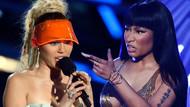 Miley Cyrus ve Nicki Minaj arasında bitmeyen kavga!