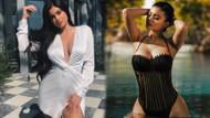 Bu haline aldanmayın! Instagram'ın kraliçesi Kylie Jenner makyajsız haliyle pes dedirtti