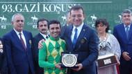 Gazi Koşusu'nda kazanan değişmedi, ödülü İmamoğlu verdi!
