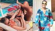 Gülben Ergen'in bikinili pozları sosyal medyayı salladı