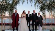 Erdoğan Mesut Özil ve Amine Gülşe'nin nikah şahidi oldu