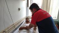 Yaralanan itfaiye eri: Kıyafetlerimi kesmeyin, devletimin malı