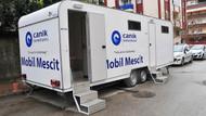 AKP'li belediyenin Mobil Mesciti hizmete girdi