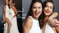 Adriana Lima ve Irina Shayk birlikte kapak oldu