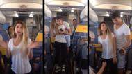 İzmir Trabzon uçağında sürpriz evlilik teklifi