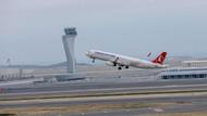 İstanbul Havalimanı'na inen uçak kuş sürüsüne daldı