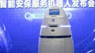 Meclis'e robot güvenlikçi geliyor