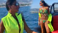 Süreyya Yalçın dansöz kostümü gibi bikinisiyle sosyal medyayı salladı