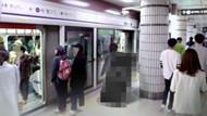 Ana haber sunucusu, bir kadının etek altı görüntüsünü çekerken yakalandı
