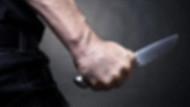 Polise bıçakla saldıran adam serbest bırakıldı