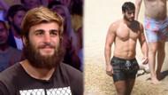 Survivor Yusuf plajda fit vücuduyla kadın tatilcilerin dikkatini çekti